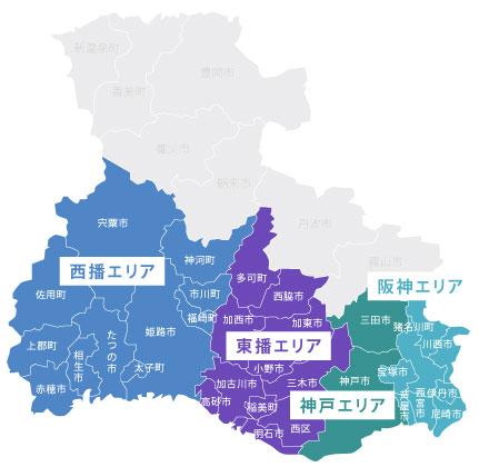 兵庫県 地図